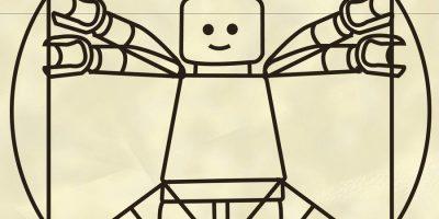 Lego Hombre De Vitrubio