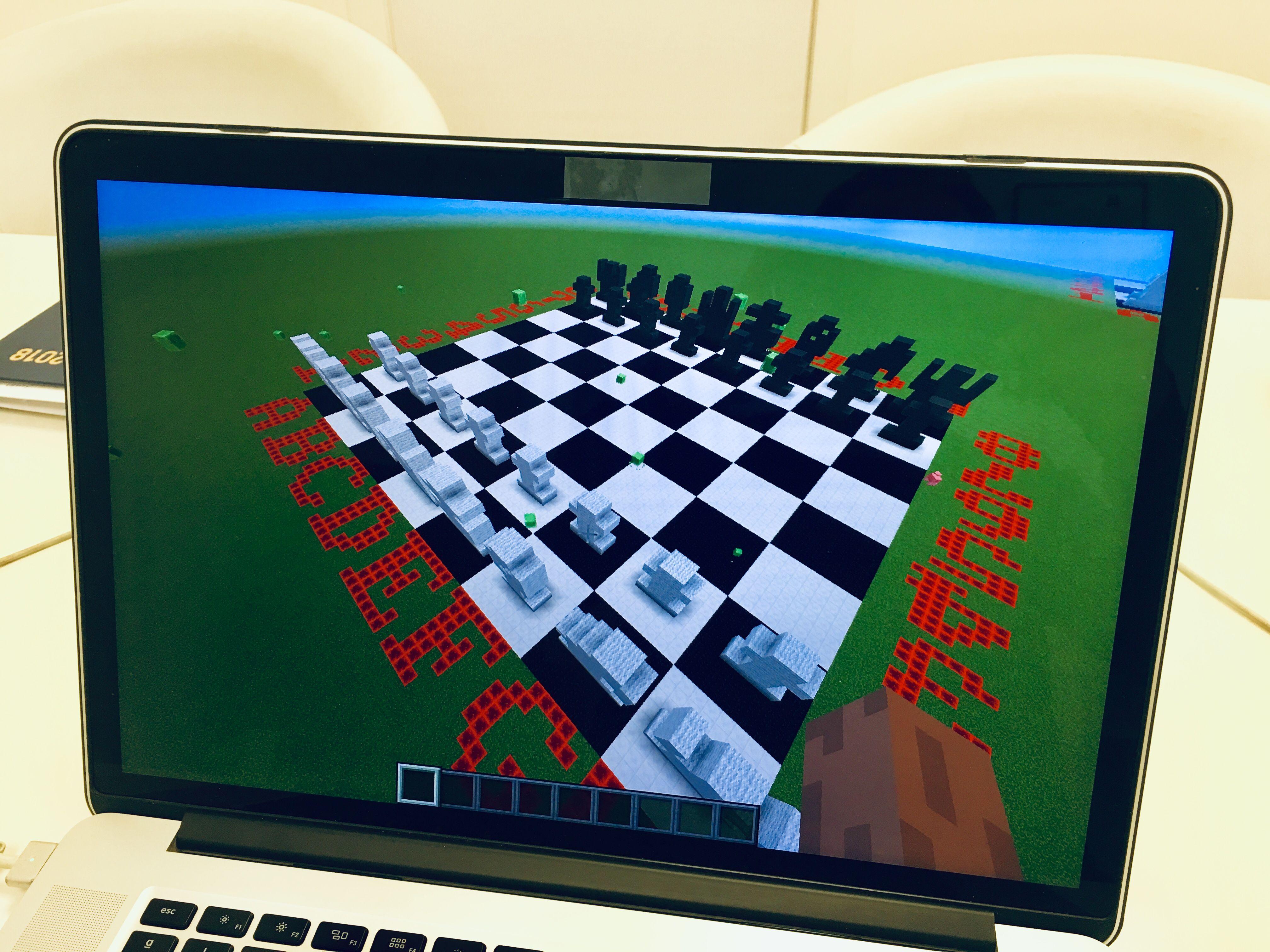 Ajedrez Minecraft Python